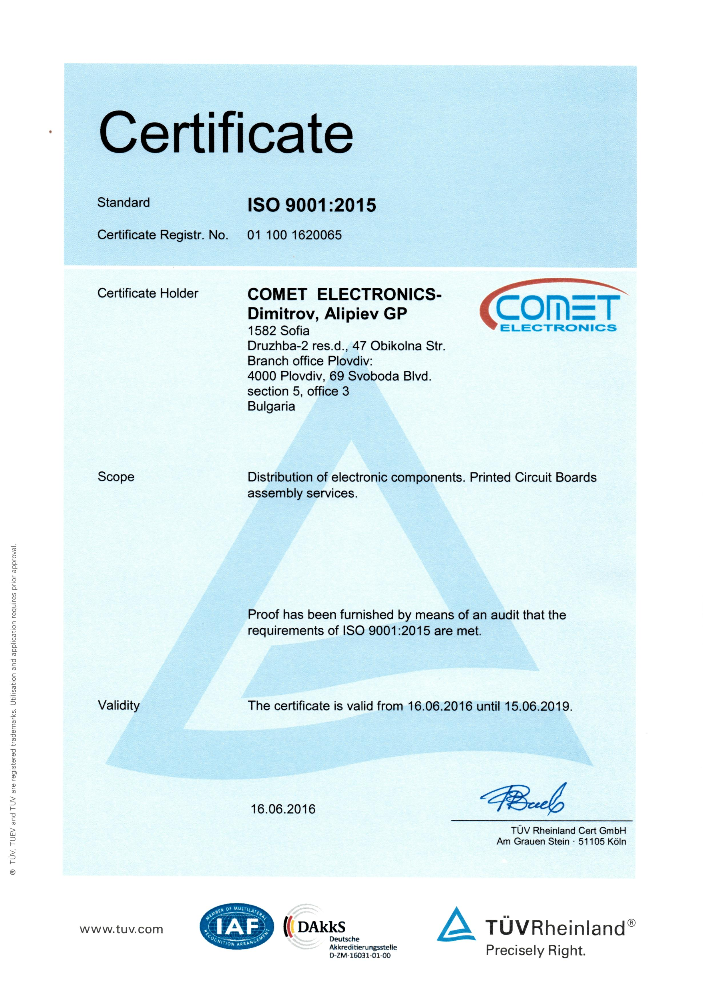 Comet Electronics About Us The Electronic Circuitry Is Custom Designed And Manufactured By Components Printed Circuit Boards Assembly Quality Policy