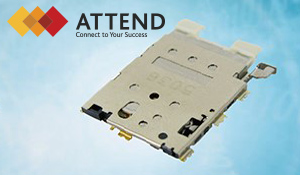 SIM Card Socket series from ATTEND
