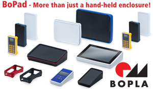 The wide and impressive range of handheld enclosures offers a modern design and individual design elements