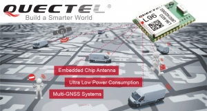 Extremely Compact GNSS L96 Module with Chip Antenna